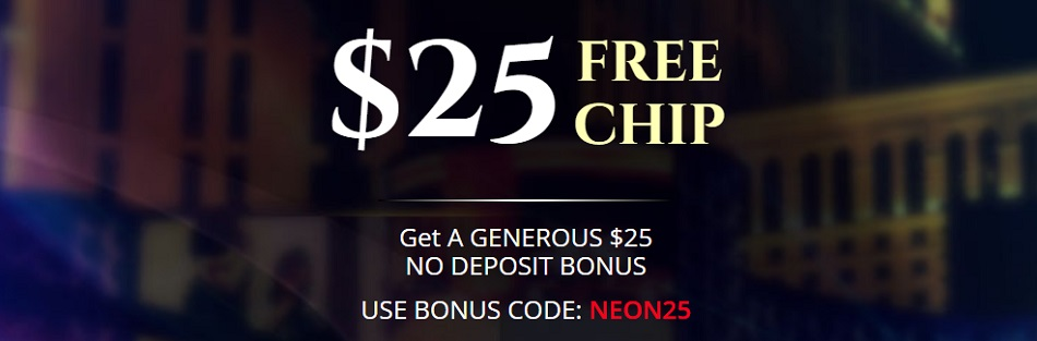 $25 Free Chips No Deposit Sign Up Casino Bonus