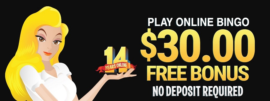 Play Online Bingo at BingoBilly Casino with $30 free signup welcome bonus no deposit required + more promotions & bonuses