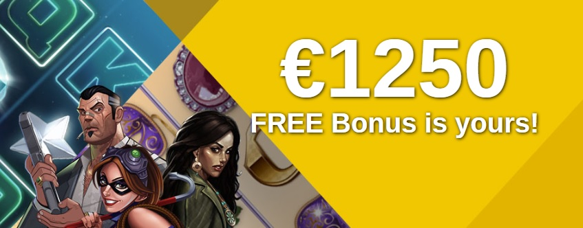 Casino Action sign up welcome €1250 Free Bonus