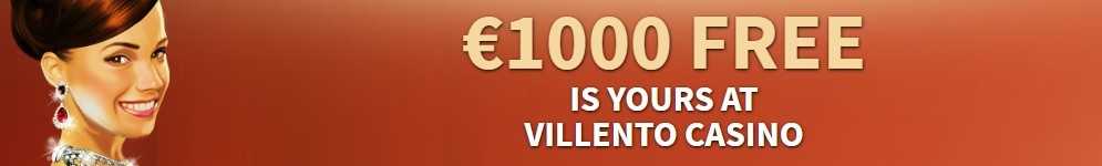 €1000 FREE BONUS at Villento Casino